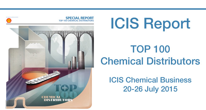 Top 100 Chemical Distributors, ICIS Report 2015